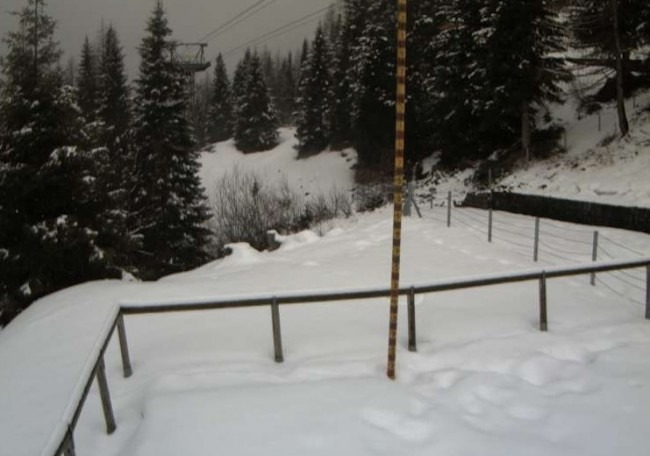 Foto tratta dalla webcam di Malga Bissina (Daone)